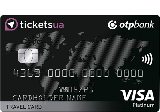 OTP Tickets Travel Card