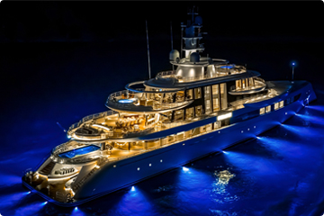 Luxury yachts: charter, acquisition, construction, management
